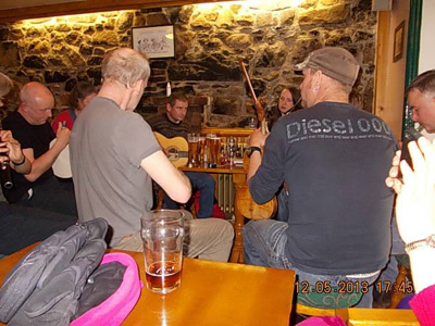 12th Sheltering from the weather The Edinbane Inn folk session
