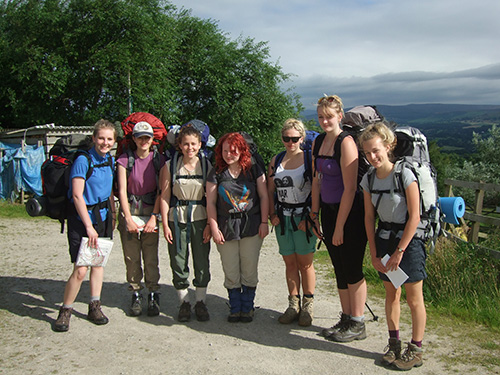 DofE group